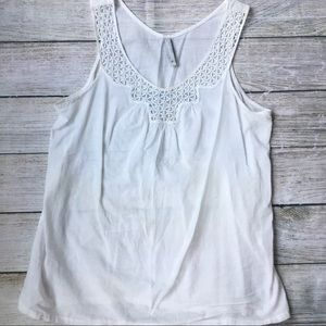 Crochet Detail Tank by Old Navy